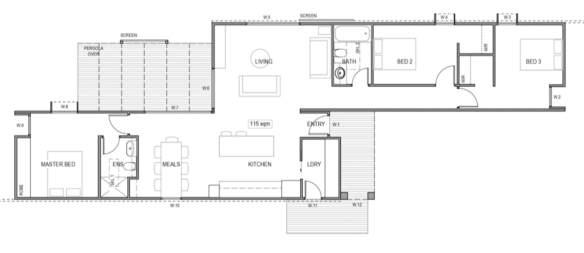 house plan prefab Breeze